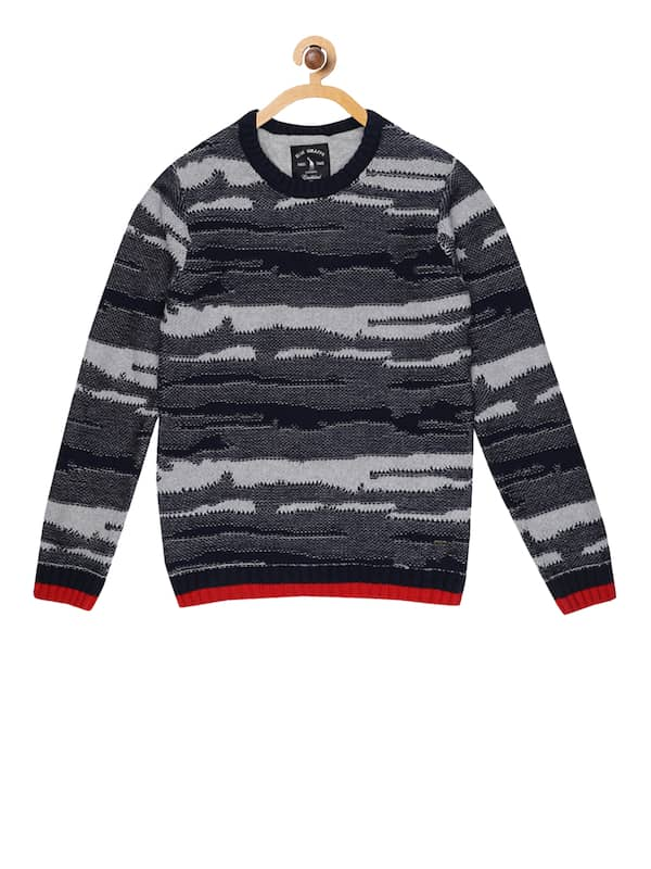 Blue Sweaters Buy Trendy Blue Sweaters Online in India