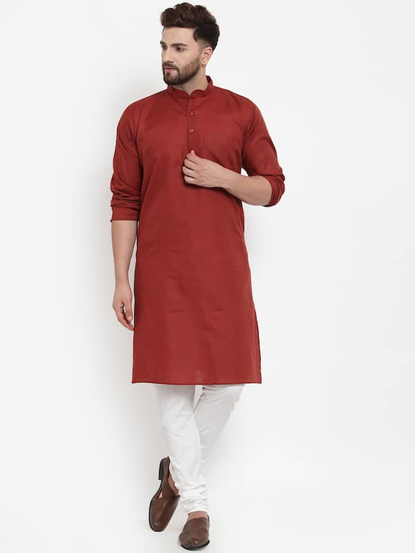 Men Kurta Pyjama Buy Kurta Pyjama For Men Online In India Myntra