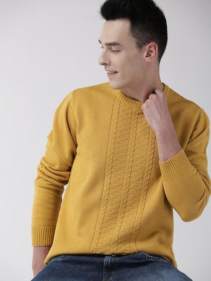 Buy Harvard Men Maroon Self Design Pullover Sweaters For Men 2017336 Myntra