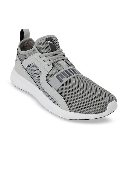 Puma Men Grey Running Abiko IDP Shoes