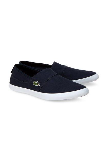 Buy Lacoste Men Black Slip On Sneakers