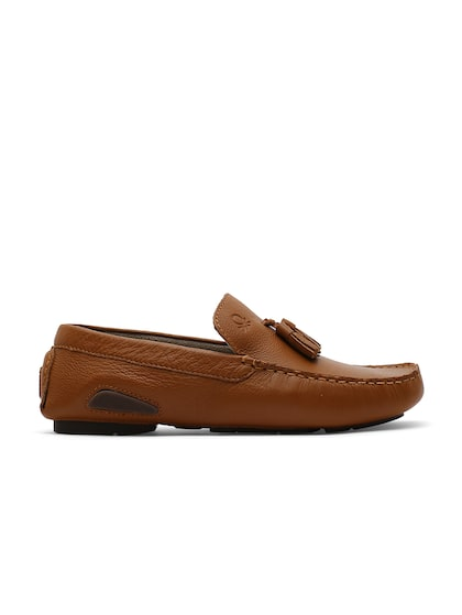 Buy United Colors Of Benetton Men Tan Brown Suede Tassel Loafers Casual Shoes For Men 1490623 Myntra