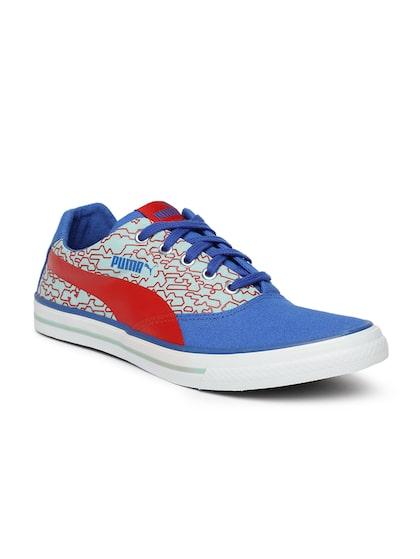 Buy Puma Men Blue \u0026 Red Solid Hip Hop