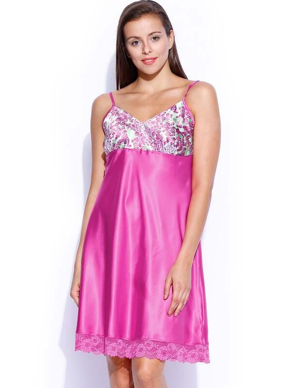 Pink Nightdress Maternity Nightwear Buy Pink Nightdress Maternity Nightwear Online In India