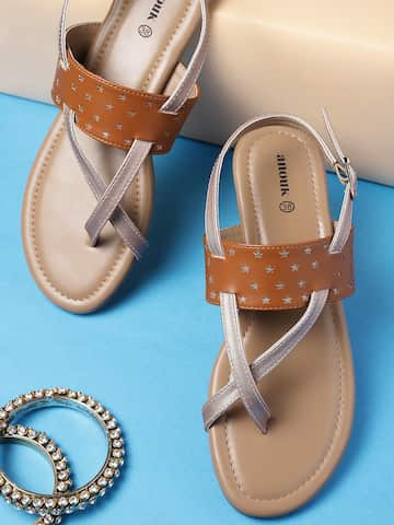 Womens And Online Buy Sandals IndiaMyntra In Flats 3TFcl1KJ