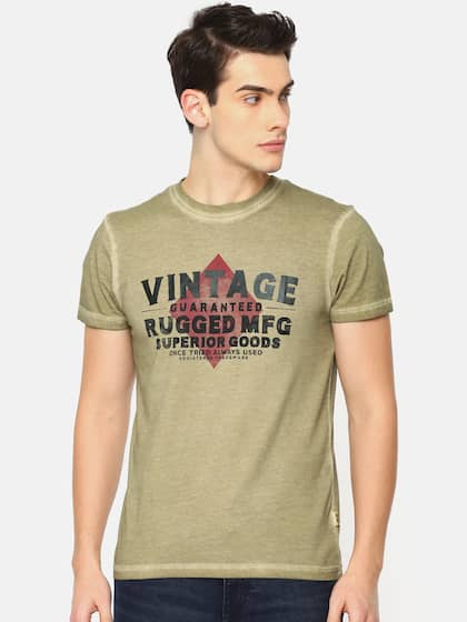 caqui Camiseta Jones Jack estampado redondo cuello Men con de IqvBqOaw