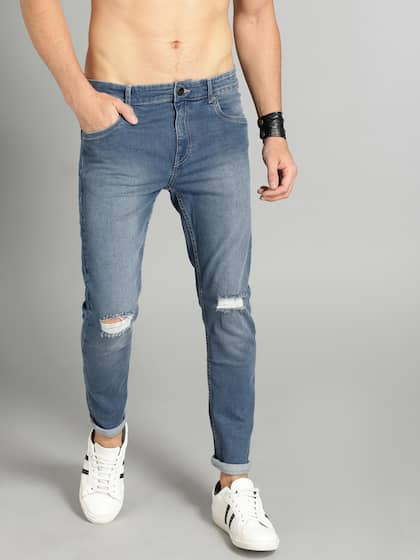 061a6227b4d5 Ripped Jeans - Shop for Ripped Jeans Online in India | Myntra