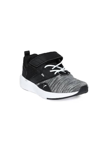 38d297d8c695c6 8717731c-7e9c-467e-b1e7-0bd3d2d944d71537176142629-Puma-Kids--Grey-Melange-- Black-NRGY-Comet-V-PS-Sneakers-7181-1.jpg