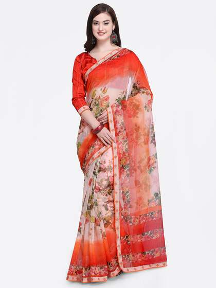 2aff13d837 Cotton Silk Saree - Buy Cotton Silk Sarees Online | Myntra