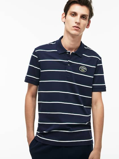 89070e0ee04 Lacoste Store Buy T Online Shirt From Shirts Myntra q1TFZqpHz