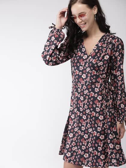Dresses Print Dress In Online IndiaMyntra Floral Buy hQCxrdts