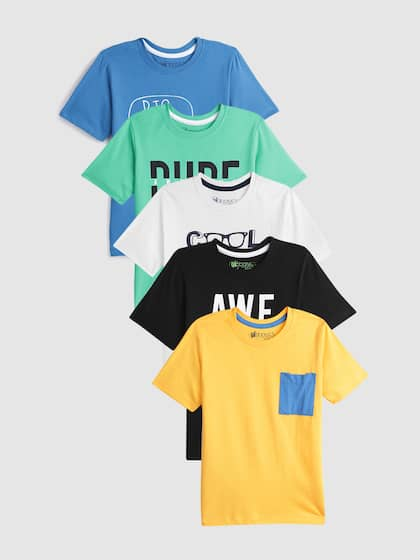 eebba92d4954 Boys T shirts - Buy T shirts for Boys online in India