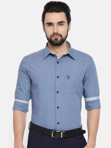 ef31f93fc2eb Formal Shirts for Men - Buy Men's Formal Shirts Online | Myntra