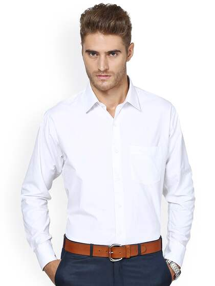0e9ba69bd8 Formal Shirts for Men - Buy Men's Formal Shirts Online   Myntra