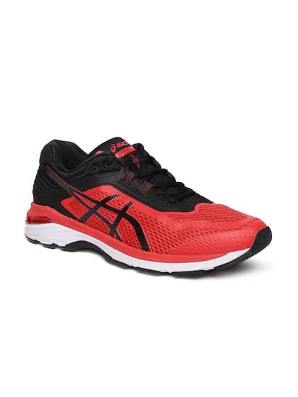 asics red shoes for men