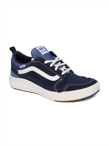 vans shoes man blue