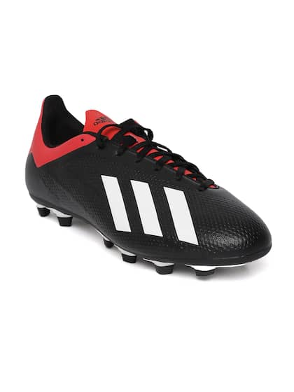 x 16.3 fg men's football shoes adidas red and black