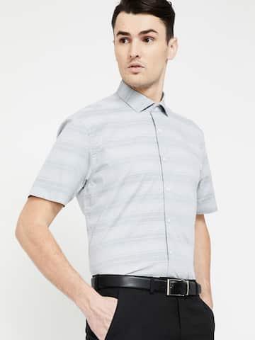 d3f4c42b9c6 Formal Shirts for Men - Buy Men's Formal Shirts Online | Myntra