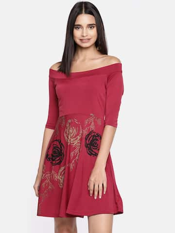 93f73005cb Floral Dresses - Buy Floral Print Dress Online in India | Myntra