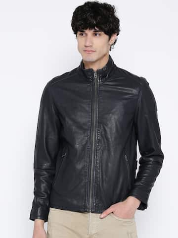 c5ab88cb8 Leather Jackets - Buy Leather Jacket Online in India | Myntra