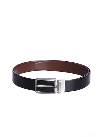 1x Leather Strap Red 1.1 x 18 cm Long with Roller Buckle Small Strap