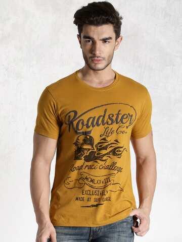2fb041b82e6e Men T-shirts - Buy T-shirt for Men Online in India | Myntra