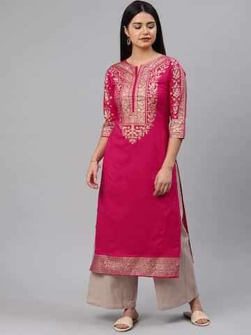56e76073ed Ethnic Wear - Buy Designer Ethnic Wear for Women Online   Myntra