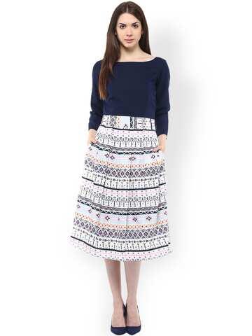 7ccbaa8c7c Knee Length Dress - Buy Knee Length Dresses Online in India