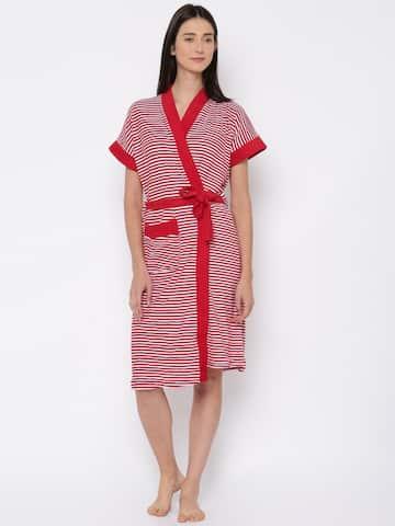 ca472a74b2bd9 Women Nightwear Robe - Buy Women Nightwear Robe online in India