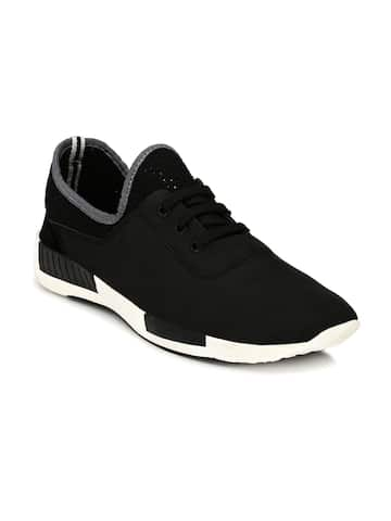 Black Casual Shoes - Buy Black Casual Shoes Online in India 8ba6438c0351