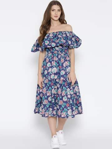 Off Shoulder Dress - Buy Off Shoulder Dresses Online  b3bd5df5e