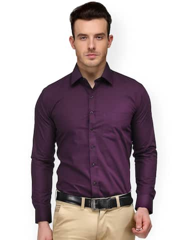 25afe67c895 Formal Shirts for Men - Buy Men's Formal Shirts Online | Myntra
