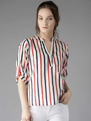 63a81bd1 Ladies Tops - Buy Tops & T-shirts for Women Online | Myntra