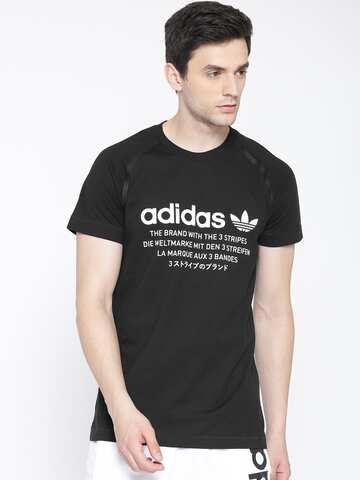 quality design 09047 eee56 NMD Printed Round Neck T-shirt. image. ADIDAS