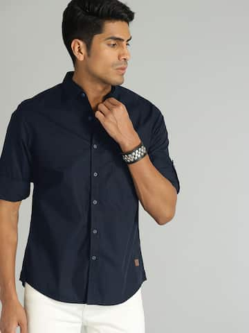 c0274335136 Buy Roadster Shirts For Men & Women Online at Myntra