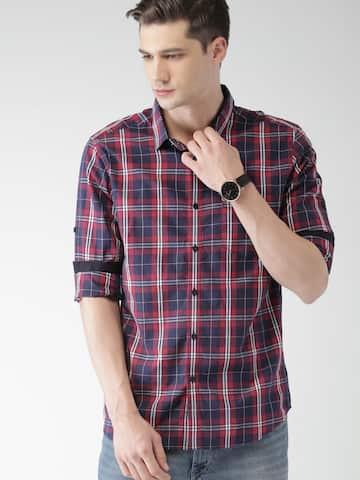 d2169ca5d4ec Casual Shirts for Men - Buy Men Casual Shirt Online in India