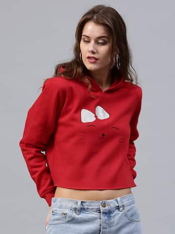 Sweatshirts   Hoodies - Buy Sweatshirts   Hoodies for Men   Women Online -  Myntra f0345a4088