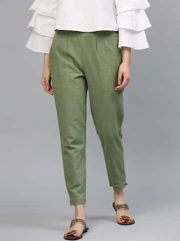f98628912 Women's Trousers - Shop Online for Ladies Pants & Trousers in India ...