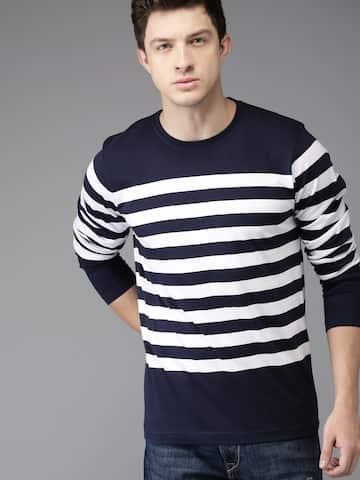 459f168e Men T-shirts - Buy T-shirt for Men Online in India   Myntra