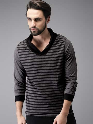 d6ce2e1a8732ca V Neck T-shirt - Buy V Neck T-shirts Online in India | Myntra