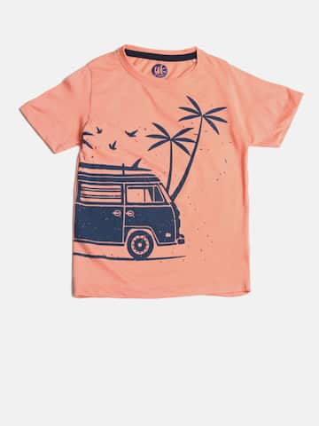 ecf4e1089154 Boys T shirts - Buy T shirts for Boys online in India