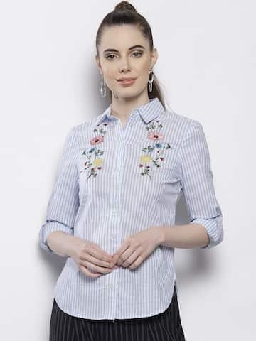 05ec5602021 Women Shirts - Buy Shirts for Women Online in India