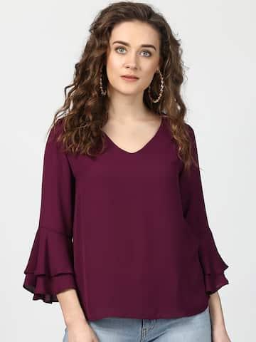cf4bb8feb Ladies Tops - Buy Tops & T-shirts for Women Online | Myntra