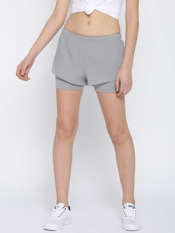 bac53c38 Reebok Women Shorts - Buy Reebok Women Shorts online in India