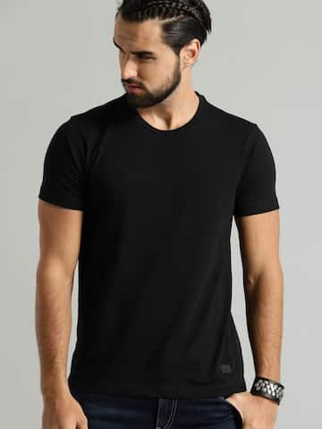 e1b74d97f42174 Men T-shirts - Buy T-shirt for Men Online in India | Myntra
