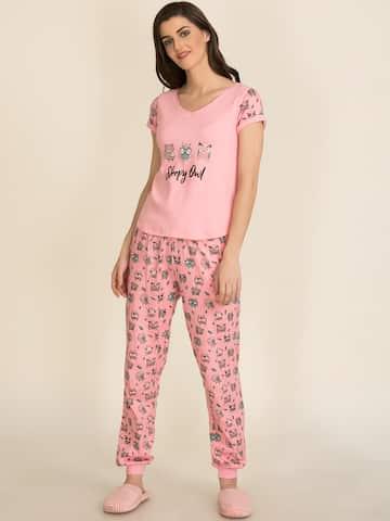 276cb11a1ae7 Women Loungewear & Nightwear - Buy Women Nightwear & Loungewear online -  Myntra