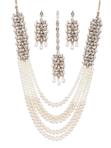 b2de0a6ee Artificial Jewellery Set - Buy Artificial Jewellery Set online in India