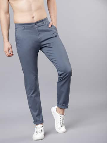 35ba18c5585be Trousers For Men - Buy Mens Trousers Pants Online - Myntra