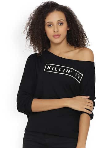 7d3b49a7b06 Off Shoulder Tops - Buy Off Shoulder Tops Online in India | Myntra