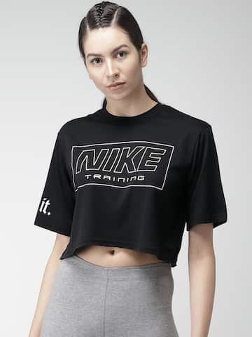 Nike Tshirts Women - Buy Nike Tshirts Women online in India 572e6c665